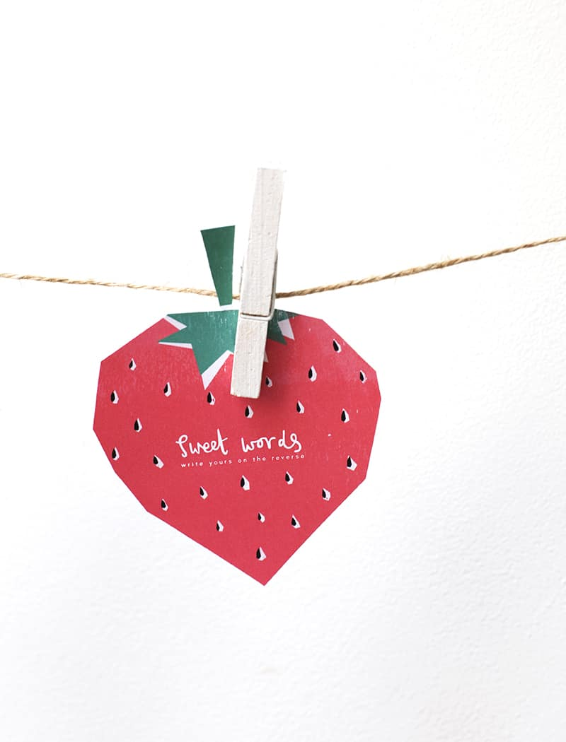 fruit printables 1