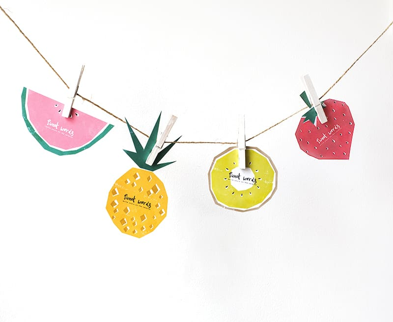 fruit printables 3
