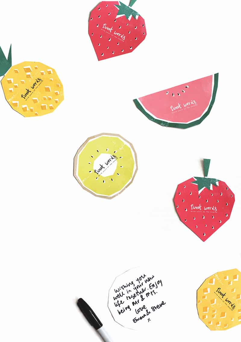 fruit printables 4