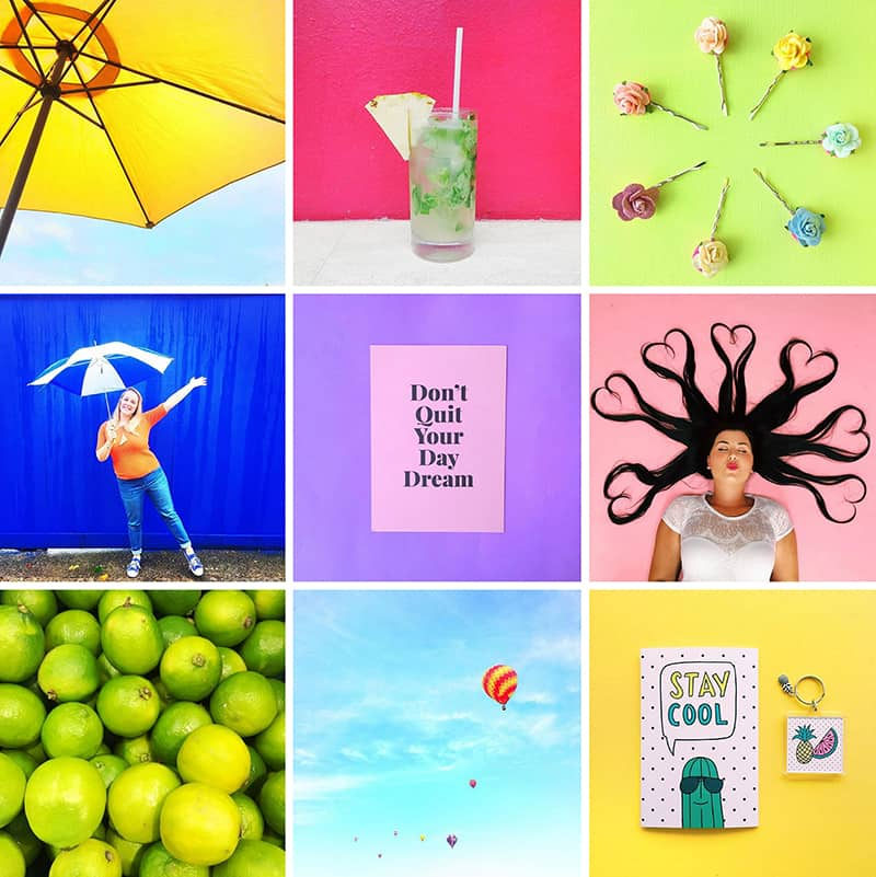 Colourful Instagram Accounts Bespoke Bride Rainbow