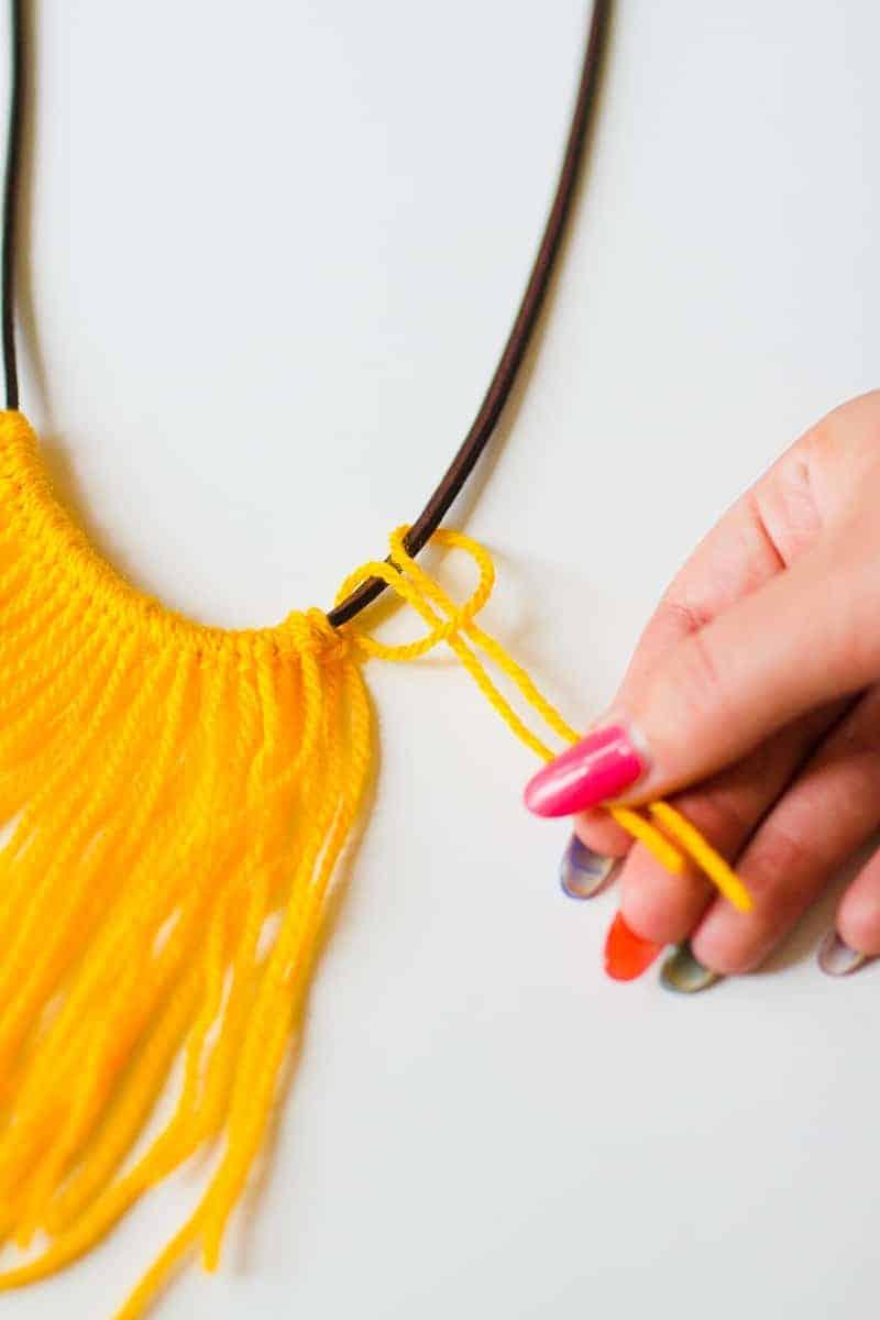 diy neon statement necklace - photo #24