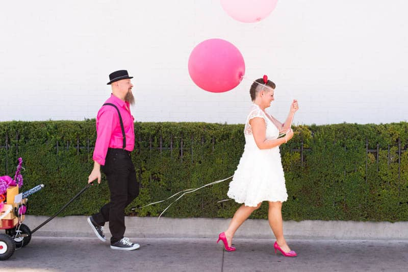 PINK TO MAKE THE BOYS WINK! AN ECLECTIC LAS VEGAS ELOPEMENT (45)