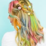 CREATE THIS COOL FESTIVAL STYLE RAINBOW BRAID!