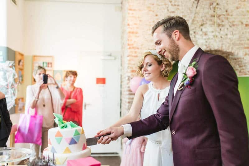 A CUTE & COLOURFUL DIY WEDDING IN A STYLISH MUSEUM IN THE NETHERLANDS (27)