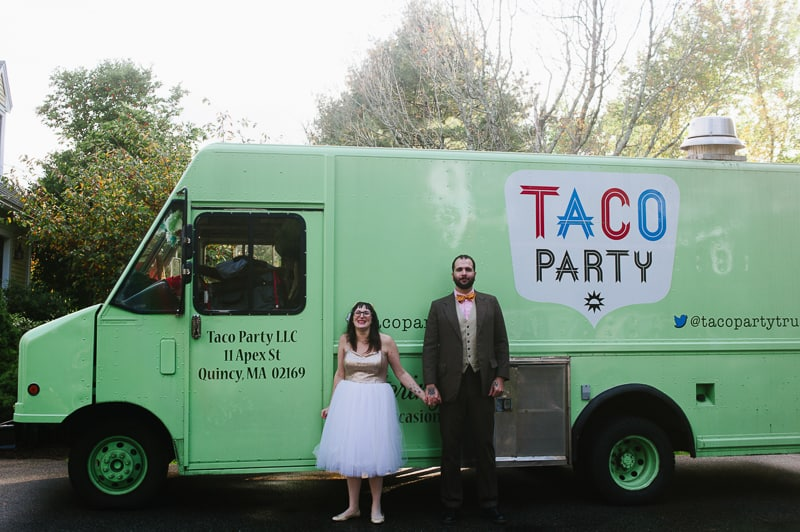 A FUN & QUIRKY FALL VEGAN WEDDING WITH A TACO TRUCK AND PUMPKIN DECORATIONS! (22)
