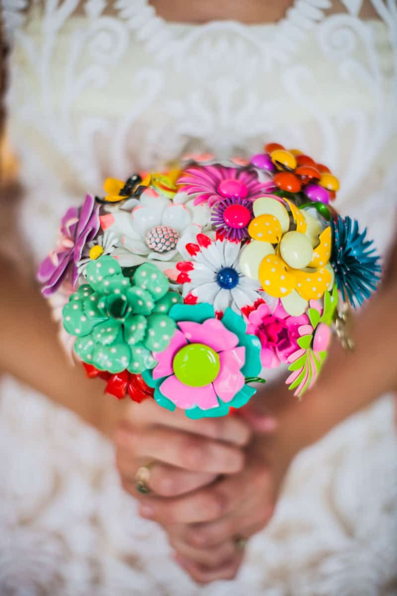 A LOW KEY BACKYARD WEDDING WITH A COLOURFUL KEEPSAKE BOUQUET! (1)