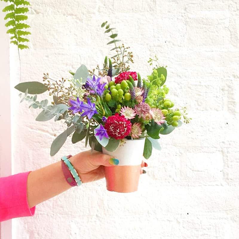 Etsy Wedding Flower Workshop Harriet Parry Floral Posie Bespoke Bride Bourne and Hollingsworth-44