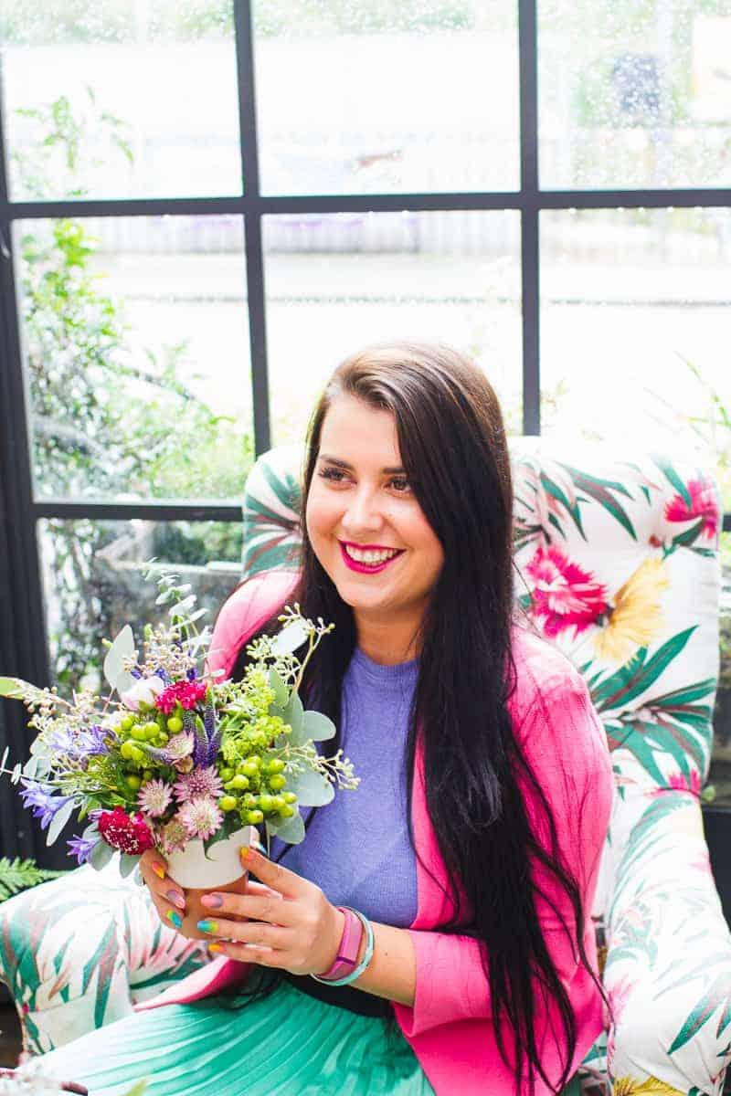 Etsy Wedding Flower Workshop Harriet Parry Floral Posie Bespoke Bride Bourne and Hollingsworth-5