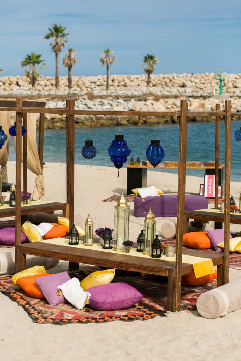 How to create a Moroccan-style party on the beach! (1)