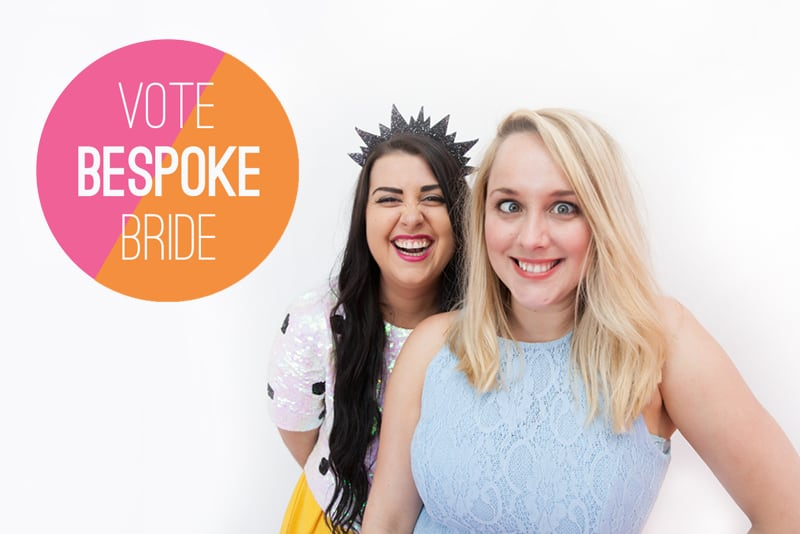 Please vote Bespoke Bride Wedding Blog Awards 3
