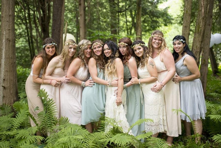 Free Spirited Bohemian Forest Wedding Bespoke Bride Wedding Blog