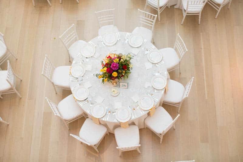 Bold & Vibrant wedding with an oversized Confetti wedding cake! (17)