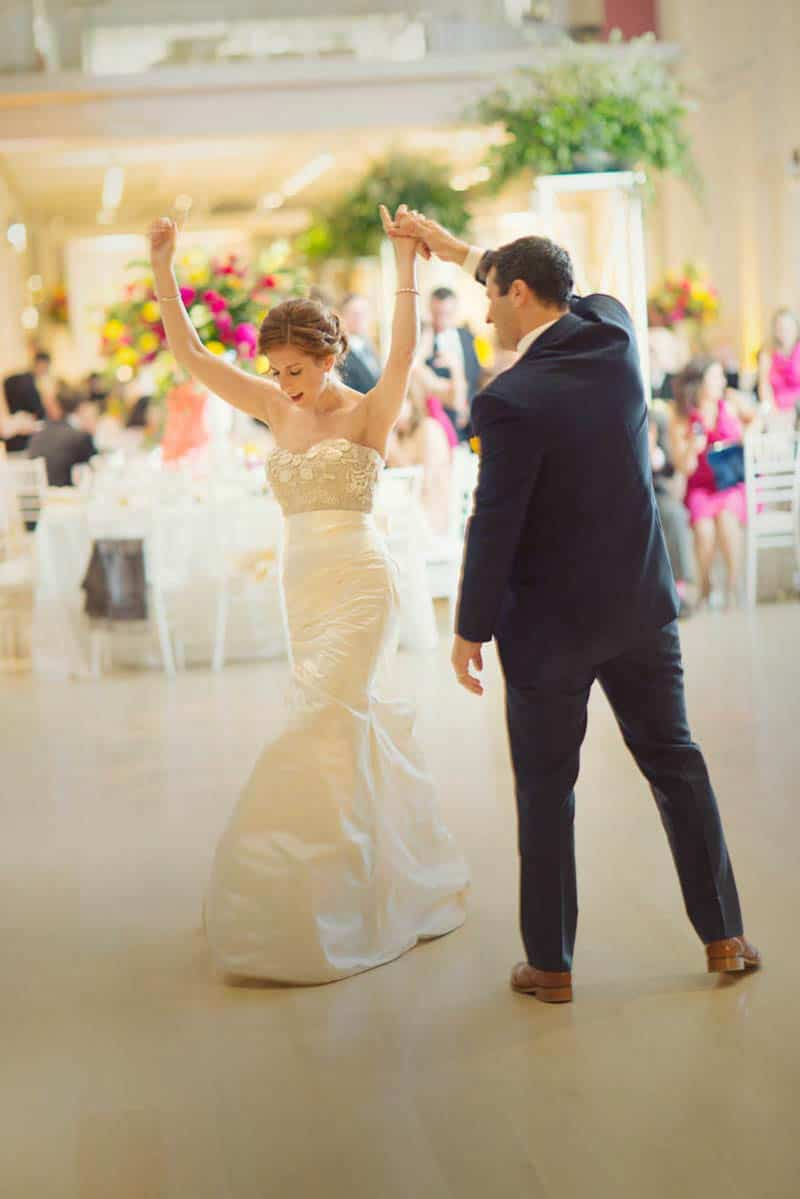 Bold & Vibrant wedding with an oversized Confetti wedding cake! (6)
