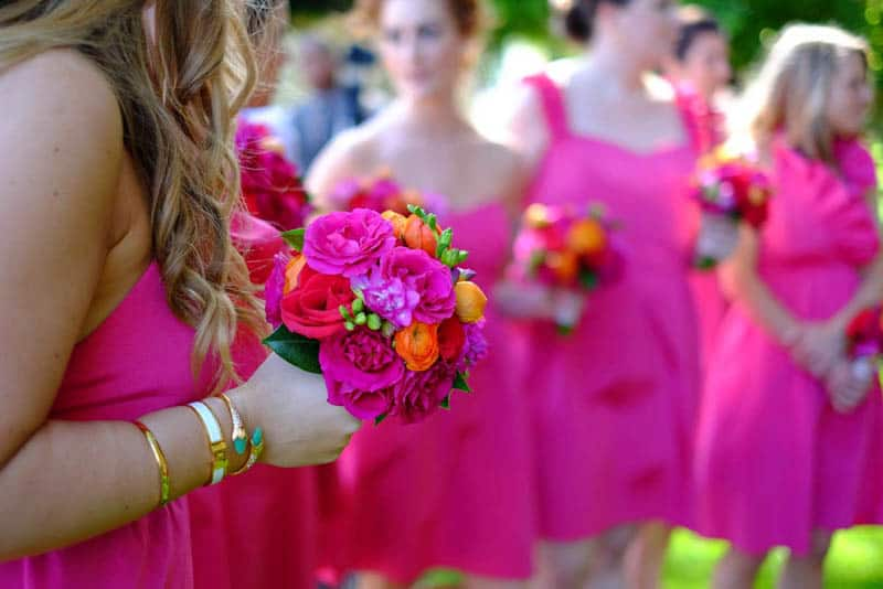 Bold & Vibrant wedding with an oversized Confetti wedding cake! (8)
