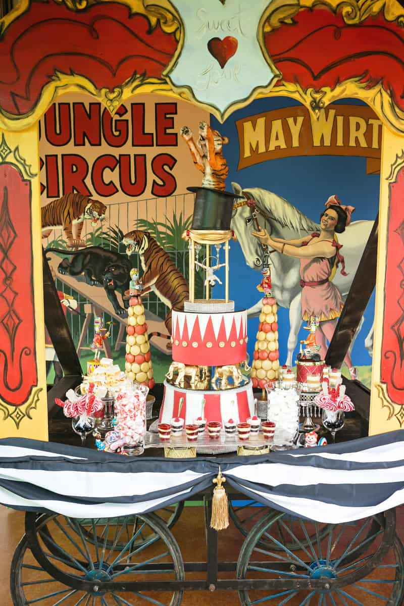 Circus Carnival Wedding Inspiration Theme 11