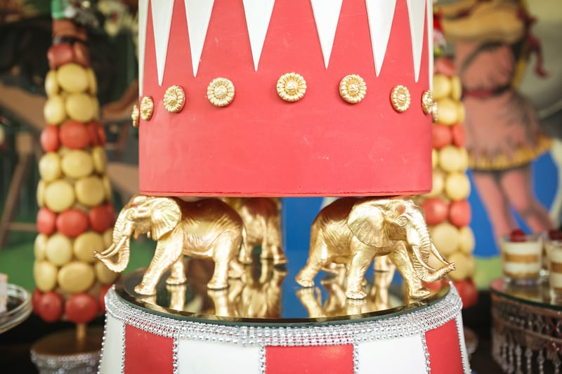 Circus Carnival Wedding Inspiration Theme 15
