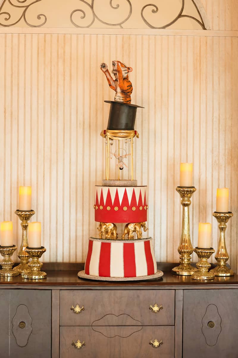Circus Carnival Wedding Inspiration Theme 18