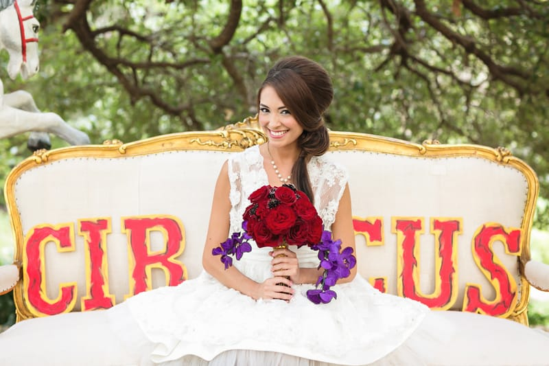 Circus Carnival Wedding Inspiration Theme 23