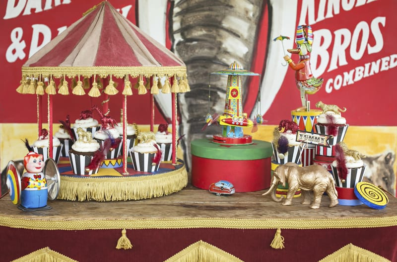 Circus Carnival Wedding Inspiration Theme 4