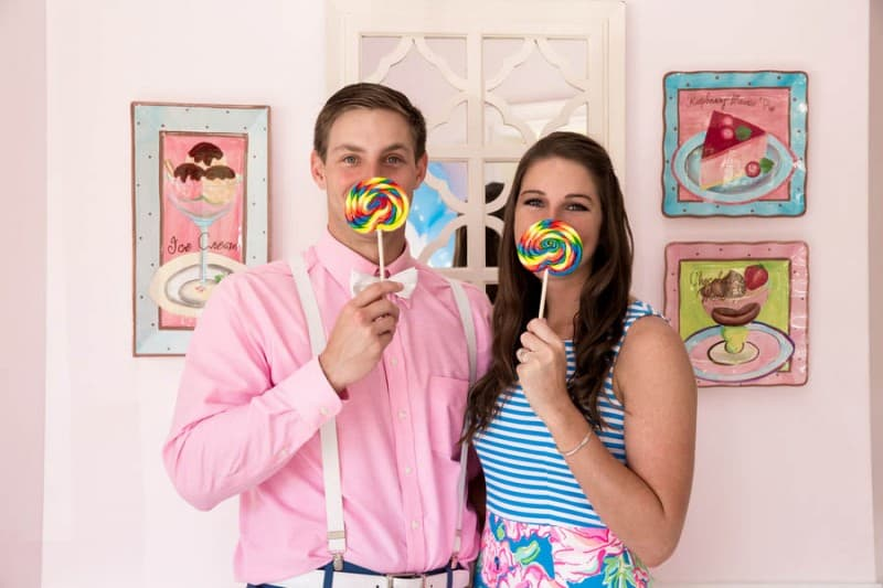 Ice Cream Parlour  Engagement Florida (19)