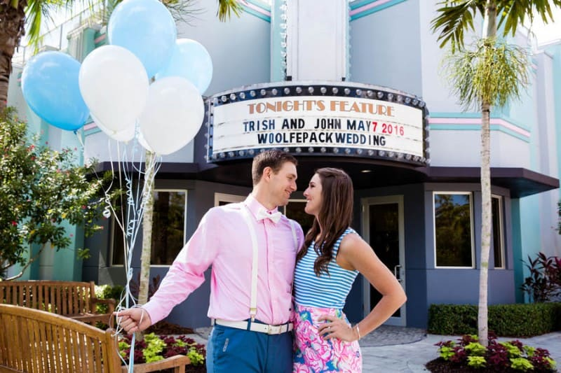 Ice Cream Parlour  Engagement Florida (5)