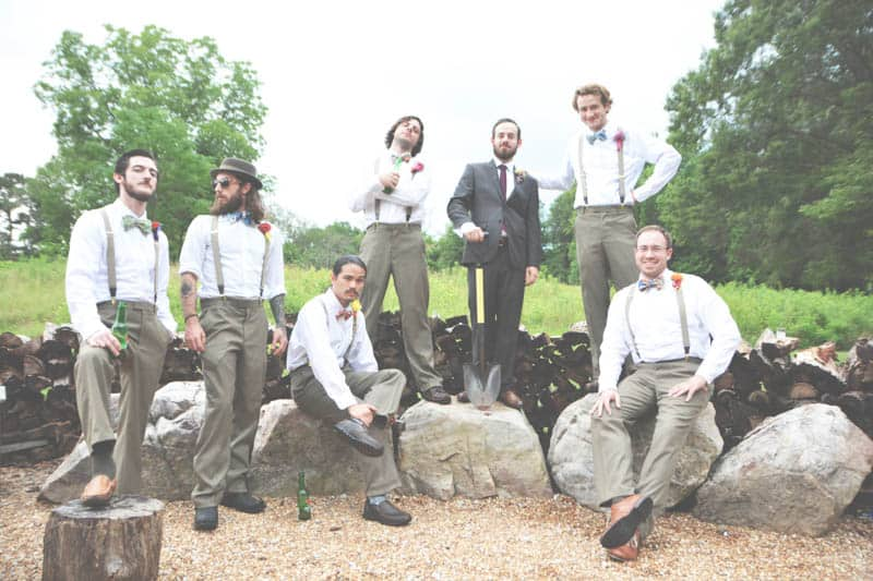 A SWEET BOHEMIAN WEDDING (2)