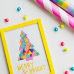 FREE PRINTABLE MERRY AND BRIGHT PRINT