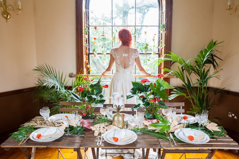 Theme bespoke bride wedding blog for Tropical themed house