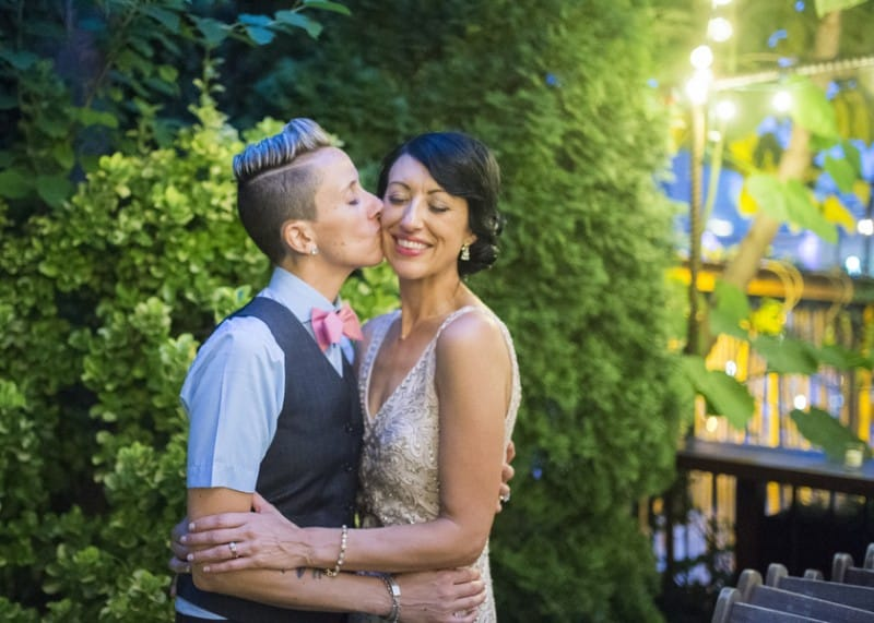 Modern Vintage DIY Wedding in Brooklyn (27)