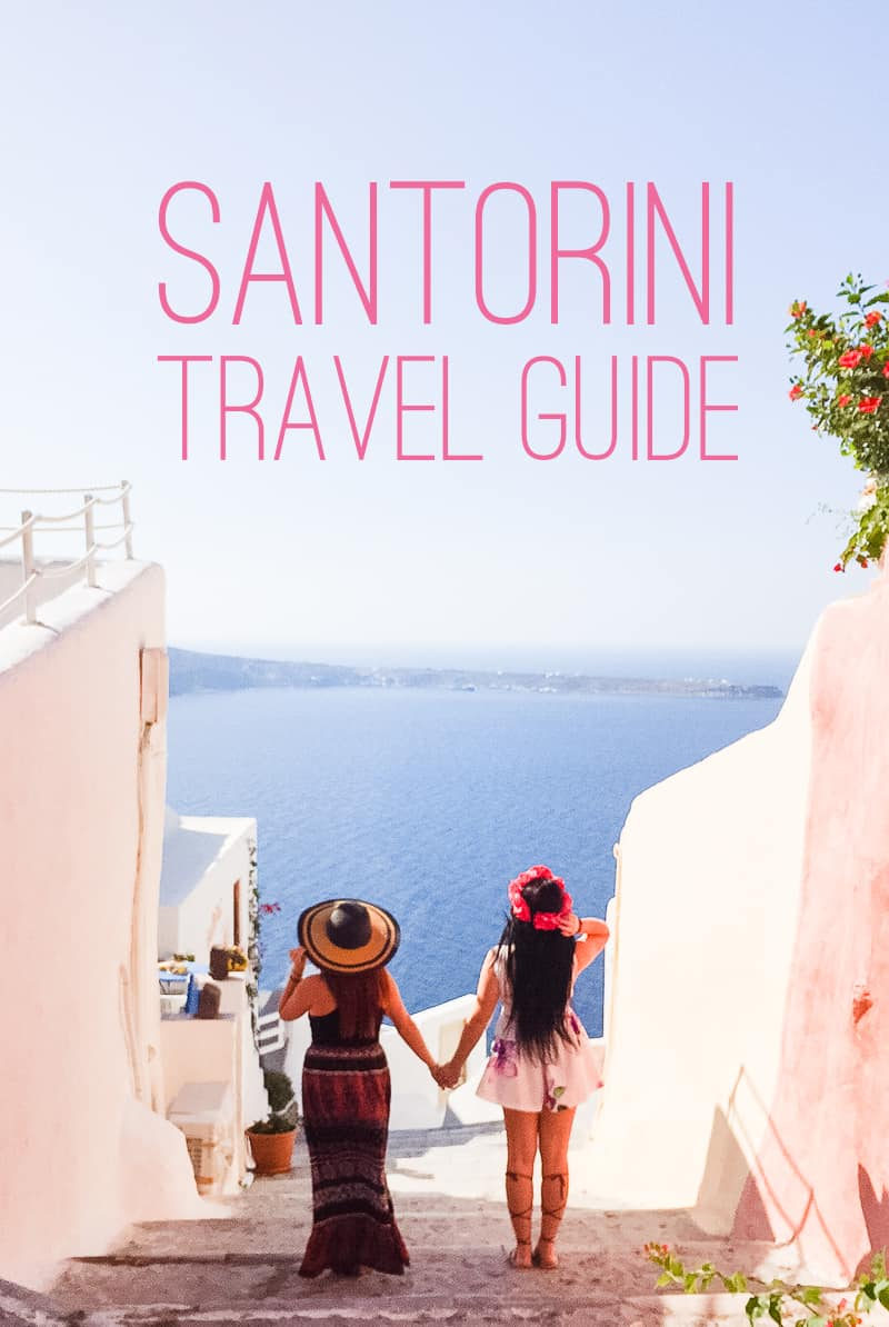 Santorini Oia Travel Guide Reccomendations Honeymoon Colourful Place Greece Main
