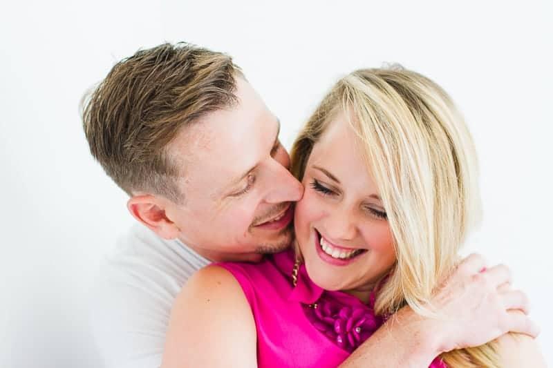 Emily & Matt's big news colourful engagement announcement shoot-21