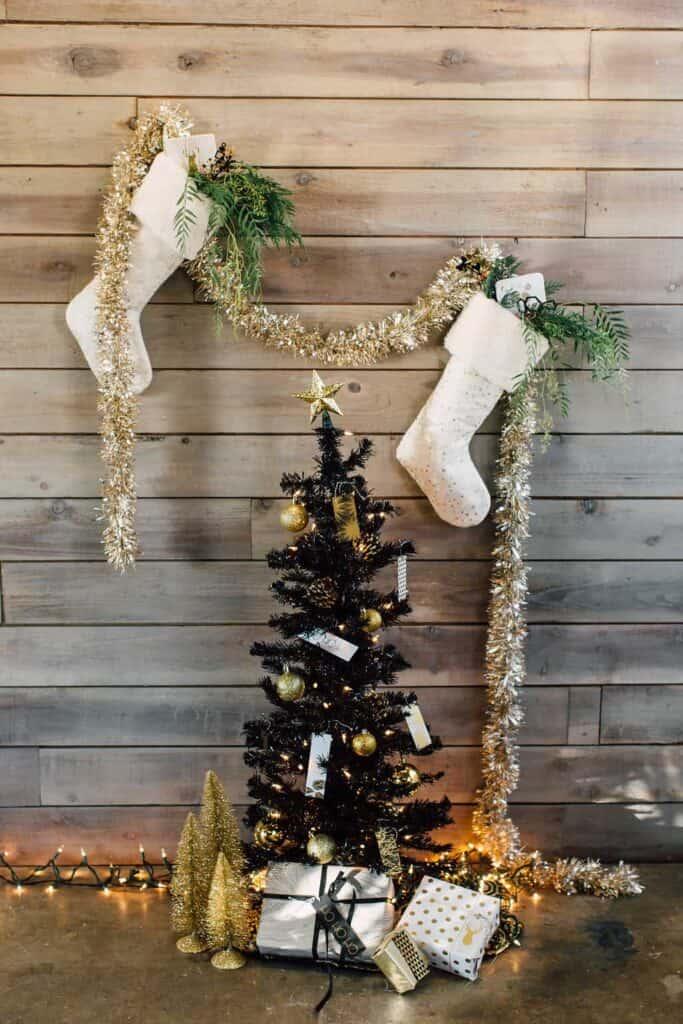 How to hang a christmas stocking bespoke bride wedding