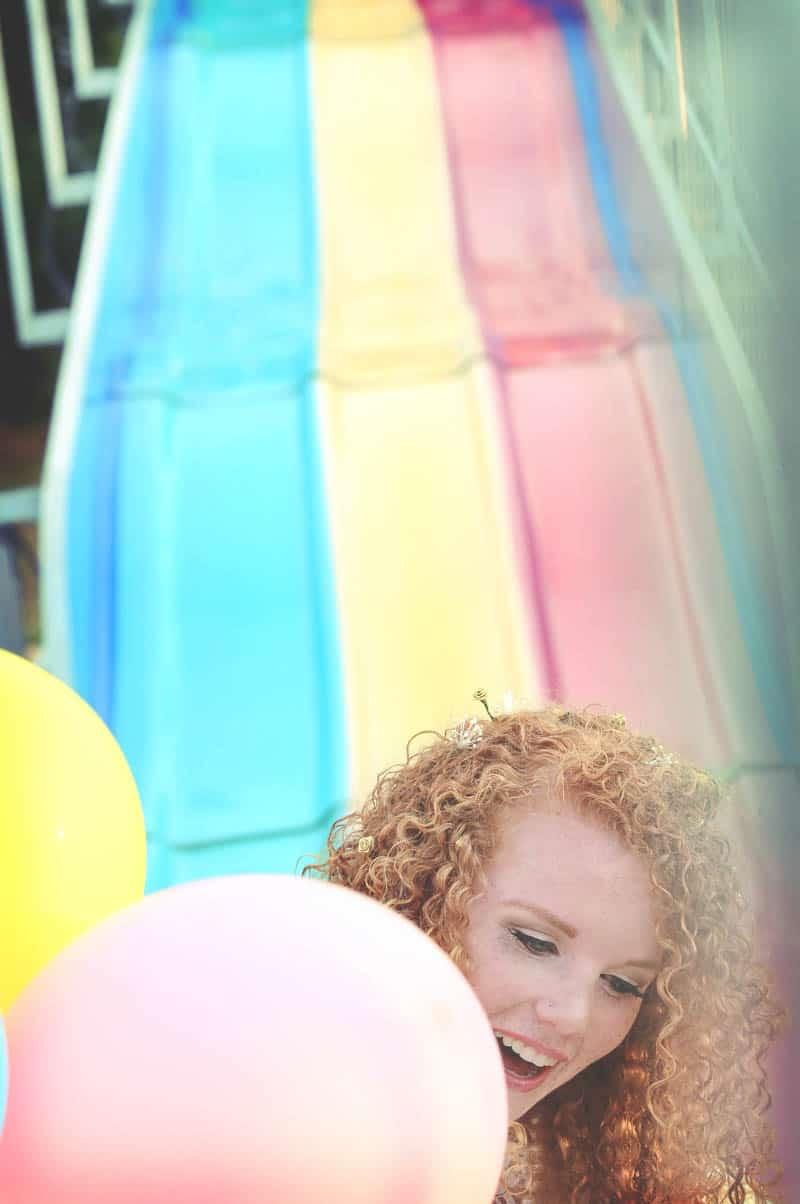 Colourful retro carnival wedding styled shoot (10)