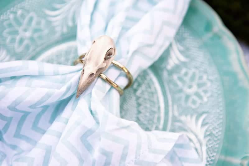 Spring style wedding inspiration skull theme scheme pastel colours modern_-37