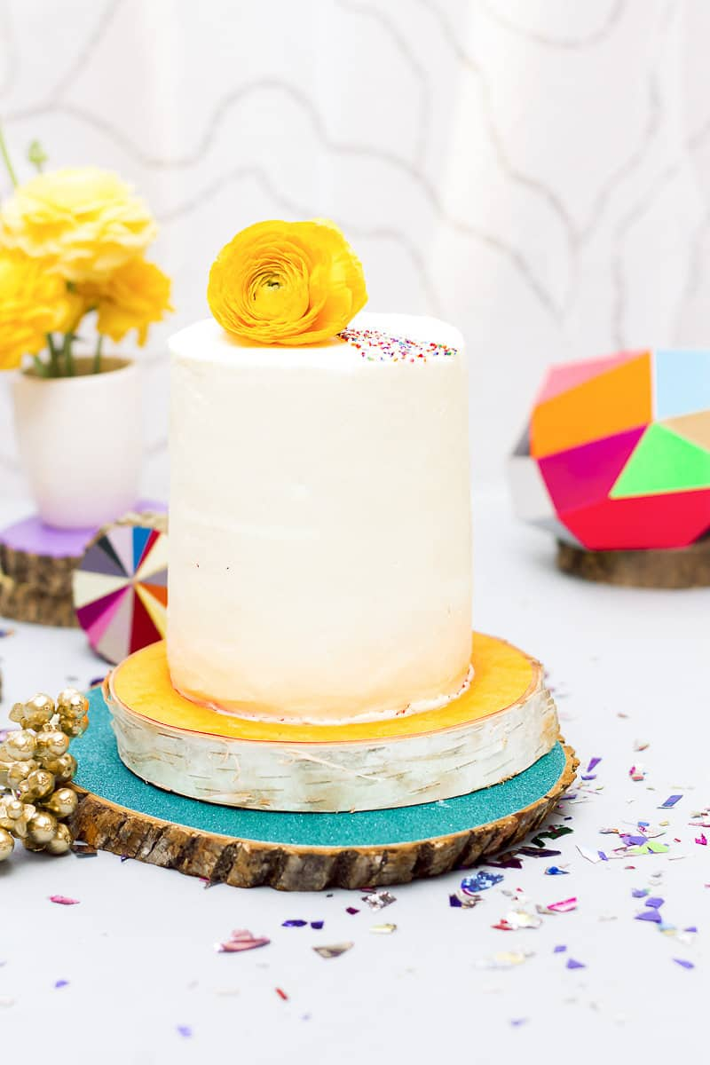 Geometric Prismatic colourful modern wedding inspiration unique fun 20