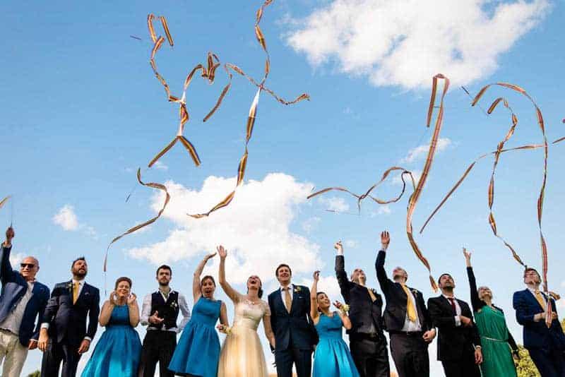 MEXICAN INSPIRED WEDDING WITH DIY PAPEL PICADO (14)