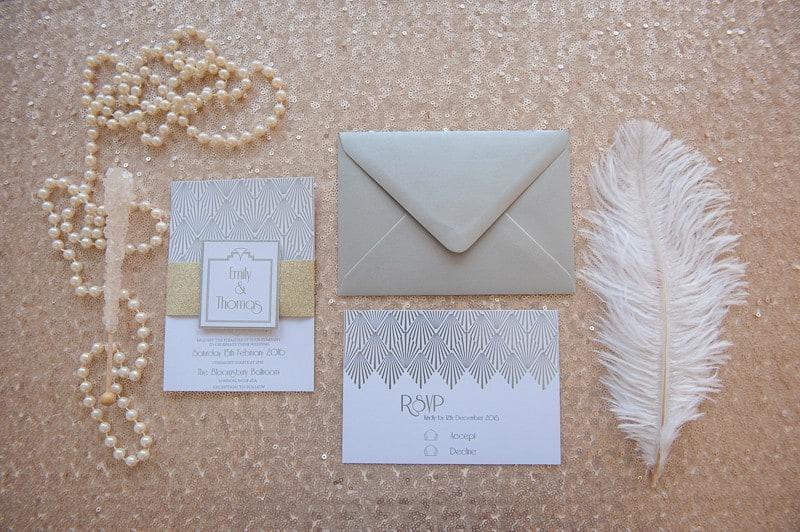 VAUDEVILLE VALENTINE Wedding inspiration Art Deco 1920s theme broadway bright lights and feathers_-14