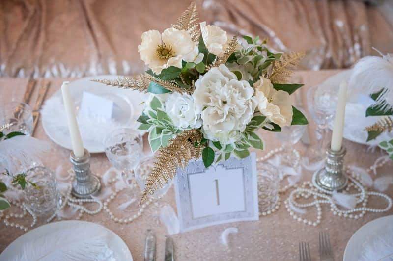 VAUDEVILLE VALENTINE Wedding inspiration Art Deco 1920s theme broadway bright lights and feathers_-5