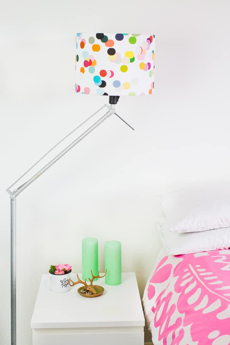 A colour story app design your own lamp shade using photos wedding lifestyle home bedside table