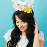 DIY FLORAL BUNNY EARS FOR YOUR MAIDS OR FLOWER GALS!