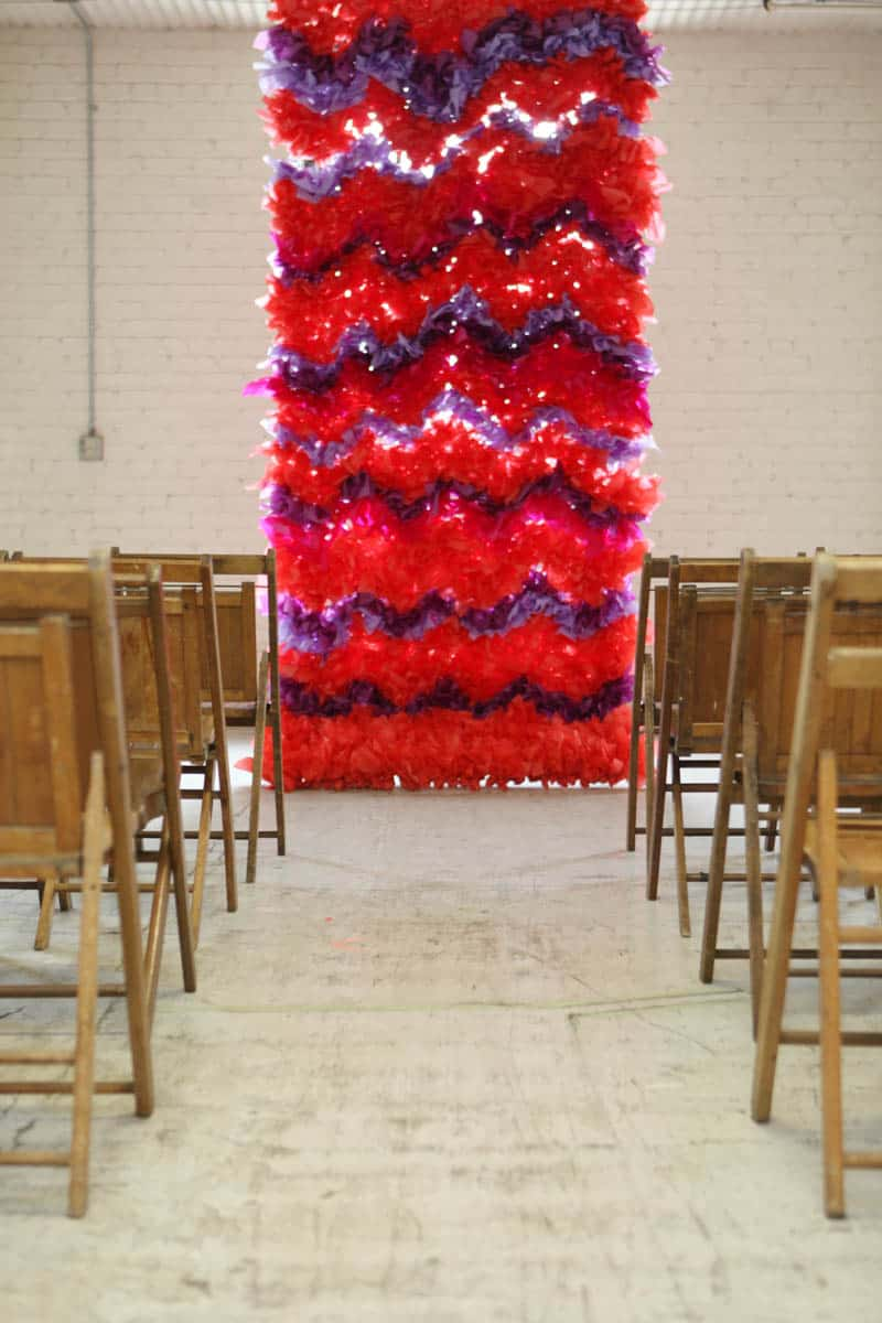 CREATIVE AND COLOURFUL STYLED WEDDING WITH PAPER FLOWERS AND PAPER BACKDROP (13)
