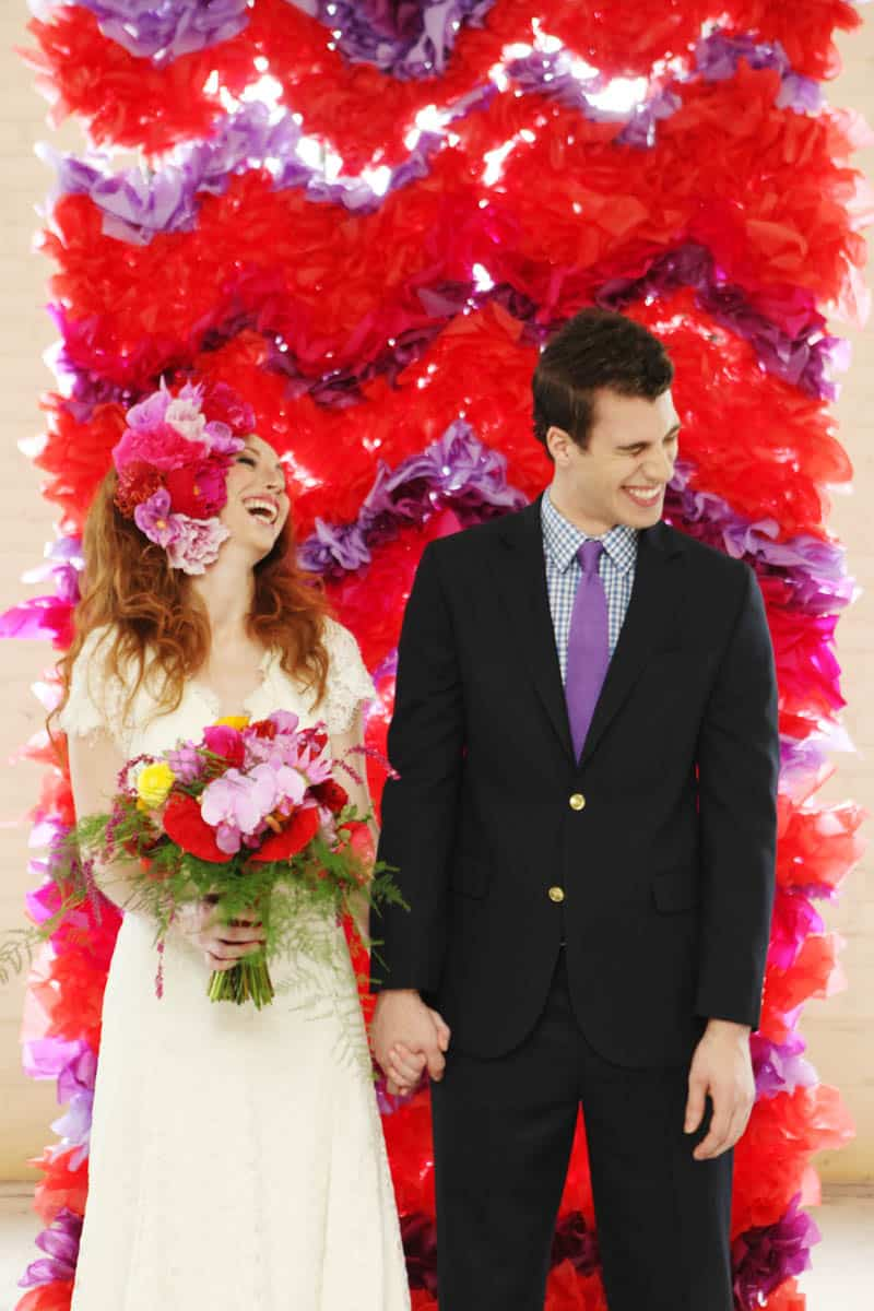 CREATIVE AND COLOURFUL STYLED WEDDING WITH PAPER FLOWERS AND PAPER BACKDROP (17)