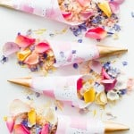 FREE PRINTABLE ABSTRACT CONFETTI CONES