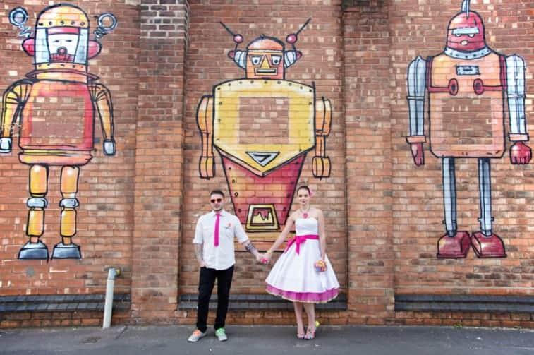 Robot Wall Mural