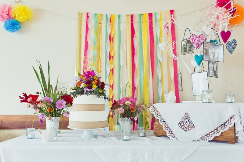 THIS CUTE DIY WEDDING IN A VILLAGE HALL IS EVERY CRAFTER'S DREAM! (11)