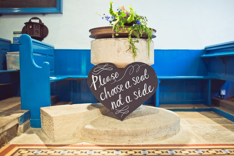 THIS CUTE DIY WEDDING IN A VILLAGE HALL IS EVERY CRAFTER'S DREAM! (25)
