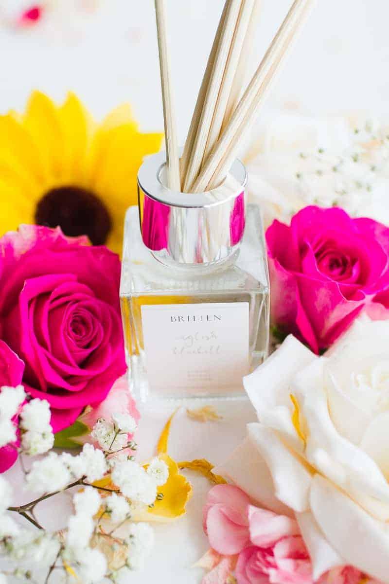 Britten Wedding Candle Diffuser Spray Bridal Gift Flat lay styling_-5