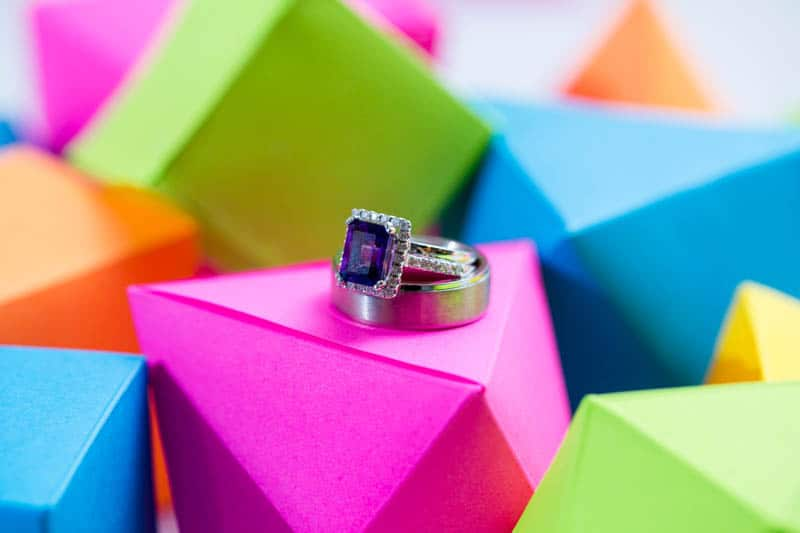 COLOURFUL SCIENCE THEMED WEDDING IN URBAN PORTLAND (8)