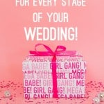 9 FREE PRINTABLES FOR EVERY STAGE OF YOUR WEDDING PLANNING