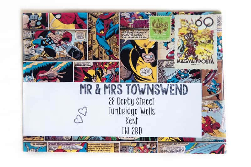 GEEK CHIC SUPERHERO COMIC BOOK STYLED MARVEL WEDDING SHOOT (33)